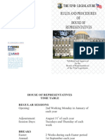Rules and Procedures of House of Representativesfinal