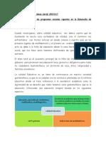 ensayo Calidad Educativa y los programas sociales vigentes en la Educación de Guatemala.docx