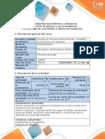 Guía de Actividades y Rúbrica de Evaluación - Etapa 2 - Ejecución