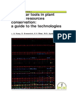 Molecular Tools in Plant Genetic Resources Conservation a Guide to the Technologies