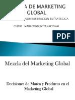 Mezcla de Marketing Global Final