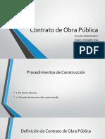 Contrato de Obra Pública