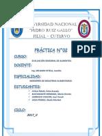 Practica 2 de Evaluacion Sensorial