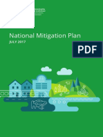 National Mitigation Plan 2017