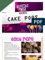 Guia Cake Pops Variedades Nice