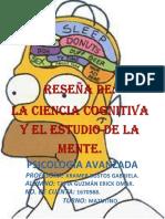 Reseña Ciencias Cognitivas
