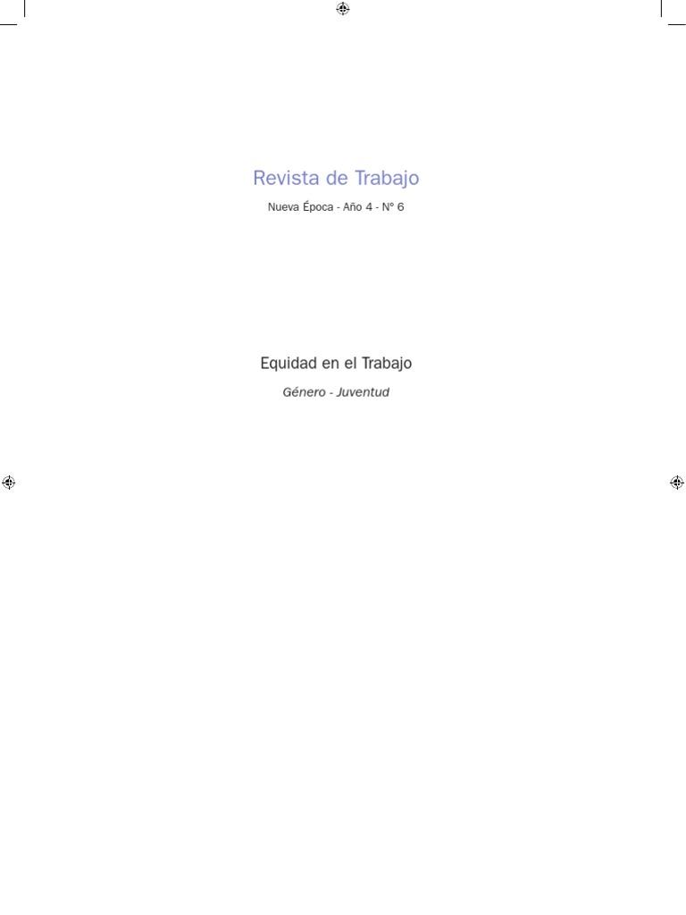 Revista de Trabajo - 2009 Nº 06