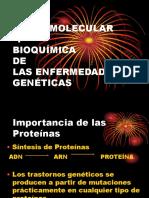 Bases Moleculares y Bioquimica de Las Enfermedades Geneticas