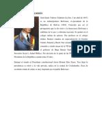 Utlimos 10 Presidentes de Bolivia