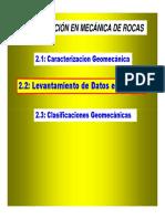 Mecánica de Rocas - II A2 DMRocas