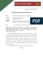 Carta 03 - Renuncia de Gastos Generales