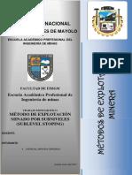 233605213 Metodo Sublevel Stoping 1 PDF[1]