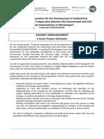 Vacancy announcement-2 junior project assistants (1).docx