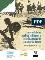 La salud de los pueblos indígenas y afrodescendientes en América Latina