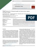 13. Fractura de Fatiga de Un Tallo Femoral Cementado Omnifit CoCr - Implante - PEÑA
