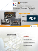 3-KICT-Advance Technology of Concrete Pavement