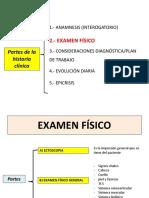 2da Clase Examen Físico