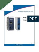 PROSOFT PLX8x EIP 61850 User Manual