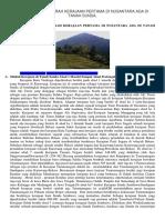 Mengungkap Sejarah Kerajaan Pertama Di Nusantara Ada Di Tanah Sunda
