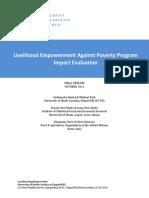 Gh Resources LEAP Quant Impact Evaluation FINAL OCT 2013