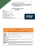 Acuerdos Matemática 2016 Intitucional Evaluación