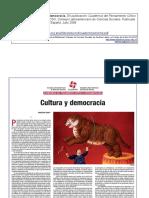 Cultura y Democracia Marilena Chaui