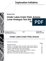 Cinder Lakes Crater Field
