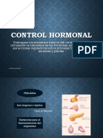 Control Hormonal, 2do Medio