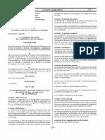 Ley 908, Ley de reposicion y rectificacion de actas del  Registro del Estado Civil de las Personas.pdf