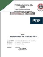 334187339 Informe de Peso Especifico Agregado Fino