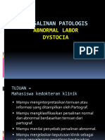 PERSALINAN PATOLOGIS