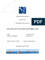 Oil Rig Valuation