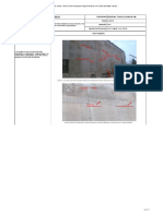 Reporte de Campo 041 - Muros Con Concreto Bombeable, Acabado Con Observaciones Mas Resaltantes.