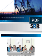 Oil and Gas Valuation Consideration