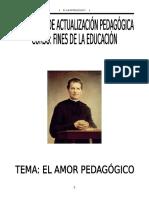 Amor Pedagógico San Juan Bosco