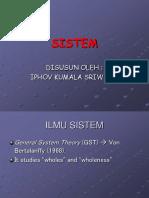 Pemodelan Sistem Pertemuan 1