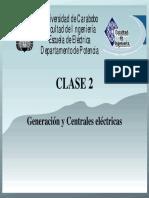 Clase de Generación Y Centrales Electricas