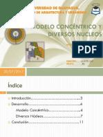 Modelo Concentrico y Diversos Núcleos