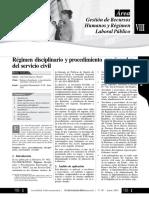 Regimen Disciplinario y Procedimiento-Sancionador Del Servicio Civil Directiv a02 2015