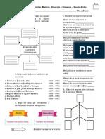 Evaluación Bimestral de Historia Geografía y Economía - Cuarto Grado