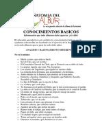 Anatomía Del Albur