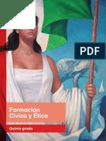 Primaria Quinto Grado Formacion Civica y Etica Libro de Texto