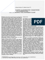 De Biasi-Aliani.2001. Monitoring of Marine Macrobenthic Communities at a Dumping Site