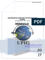 Módulo de Análisis Matemático - i -2017 - II