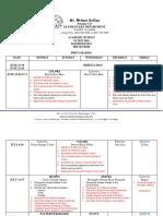 Academic Budget Mathematics Pk