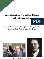 Awakening From the Sleep of Inhumanity (Jon Sobrino)