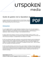 Guide Gestion Reputation en Ligne PDF