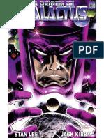 A Origem de Galactus - Stan Lee