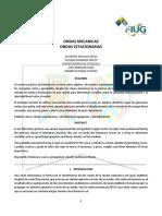 Informe de Ondas Estacionarias