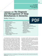 Sleep Disorders in Dementia